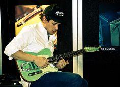 John Mayer at the Fender Showcase at NAMM |