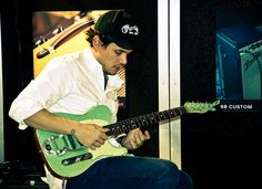 John Mayer at the Fender Showcase at NAMM |