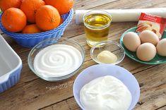 Μανταρινόπιτα Σιροπιαστή Syrup Cake, Serving Bowls, Baking, Tableware, Food, Greek Recipes, Dinnerware, Bakken, Tablewares