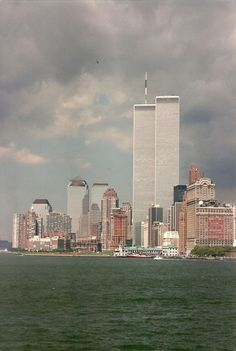 Gone and missed. New York Cityscape with Twin TOWERS of World Trade Center  ** Loved but NOT Forgotten