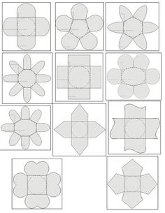 Free Templates for Party Boxes, Gift Boxes or Party Souvenirs. – Vanessa Vigil Hoang Free Templates for Party Boxes, Gift Boxes or Party Souvenirs. Free Templates for Party Boxes, Gift Boxes or Party Souvenirs. Diy Gift Box, Diy Box, Diy Gifts, Gift Boxes, Favour Boxes, Party Box, Party Party, Diy Paper, Paper Art