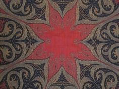 Antique Paisley ShawlDouble Sided Wool what a great pattern for a hooked rug