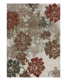 Take a look at this Ivory & Camel Expression Rug by Loloi Rugs on #zulily today!