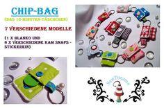 ITH-Stickdatei ♥Chip-Bag♥  10x10 Rahmen von SewDreams - Nähträume zum Kaufen auf DaWanda.com