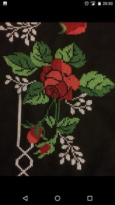Shirt Embroidery, Cross Stitch Embroidery, Cross Stitch Patterns, Baby Dress Patterns, Baby Knitting Patterns, Cross Stitch Rose, Bargello, Crochet Animals, Embroidered Flowers