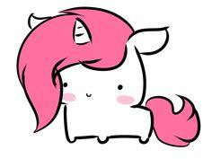 A fluffy little chibi Unicorn!