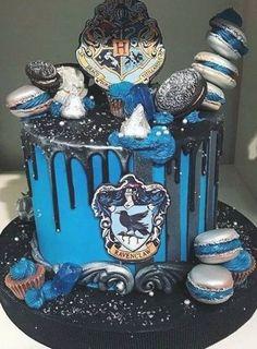 Harry Potter Torte, Harry Potter Desserts, Harry Potter Fiesta, Harry Potter Birthday Cake, Harry Potter Food, Harry Potter Fandom, Harry Potter Cupcakes, Harry Potter Pictures, Harry Potter Aesthetic