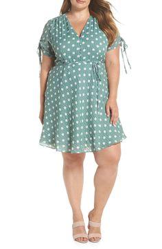 fff2088f20a Glamorous Polka Dot Fit   Flare Dress (Plus Size)