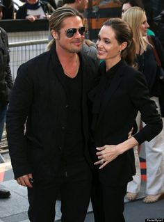 Angelina Jolie with Brad in Paris June 2013