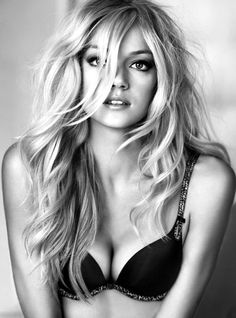 beautiful black and white portrait.. I'm actually wearing that exact same bra right now! Haha Gotta love Vickies Lingerie