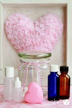 Whip up a natural aphrodisiac with this ultra-romantic essential oil blend, 'Love Potion No. This deliciously-scented blend combines Ylang Ylang, Clary Sage, Bergamot and Sandalwood, to add a lovely spark of romance to the air! Essential Oils For Pain, Essential Oil Uses, Young Living Essential Oils, Romantic Bath, Romantic Night, Perfume, Aromatherapy Oils, Living Oils, Doterra Essential Oils