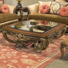 Tuscan design – Mediterranean Home Decor French Furniture, Table Furniture, Living Room Furniture, Home Furniture, Luxury Furniture, Online Furniture, Solid Wood Coffee Table, Cool Coffee Tables, Tuscan Design