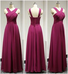 High Quality Prom Dress,Chiffon Prom Dress,A-Line Prom Dress,Pleat Prom Dress, Brief Evening Dress