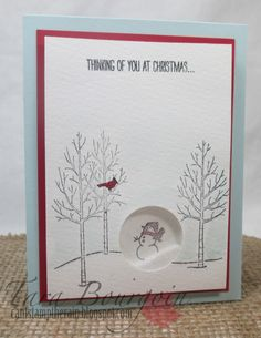 This week at The Friday Mashup , Lisa is our host and is challenging us to create a shaker card with an animal. I love shaker cards! Stamped Christmas Cards, Homemade Christmas Cards, Christmas Cards To Make, Xmas Cards, Homemade Cards, Holiday Cards, Stampin Up Weihnachten, Snowman Cards, Shaker Cards