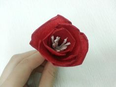 DIY paper flower so cute