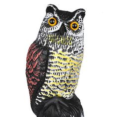 Best price on Realistic Owl Decoy Rotating Head Weed Pest Control Crow Scarer Scarecrow //    Price: $ 32.00  & Free Shipping Worldwide //    See details here: http://mrowlie.com/product/realistic-owl-decoy-rotating-head-weed-pest-control-crow-scarer-scarecrow/ //    #owl #owlnecklaces #owljewelry #owlwallstickers #owlstickers #owltoys #toys #owlcostumes #owlphone #phonecase #womanclothing #mensclothing #earrings #owlwatches #mrowlie #owlporcelain