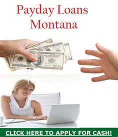Payday loans Montana are quickest and simplest financial help for borrowers to deal with all unwanted monetary worries in small duration without any troubles. Read more..
