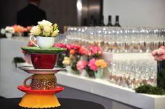 Evento aniversario Airfrance Producción por Blow Up Decoración por Flores y Piedras