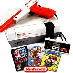 ON SALE NOW! (Nintendo Entertainment System Console (NES) + Mario Bros 1 2 & 3 W/72 PIN) $139.95 + FREE U.S. SHIPPING! - www.AllStarVideoGames.com