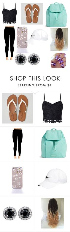 """""""hanging with friends"""" by heavynnjohnson ❤ liked on Polyvore featuring American Eagle Outfitters, Lipsy, Vera Bradley and NIKE"""