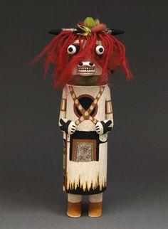 Cow Kachina Doll by Raynard Lalo (Hopi)