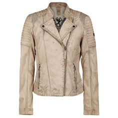 "Gipsy Leather Jacket, Women ""Spirit"" beige • EMP"