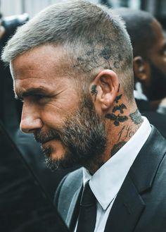 David Beckham Tattoos Beard and hair Style David Beckham Tattoos, David Beckham Haircut, David Beckham Style, David Beckham Beard, David Beckham Short Hair, Short Fade Haircut, Short Hair Cuts, Short Hair Styles, Hair Styles