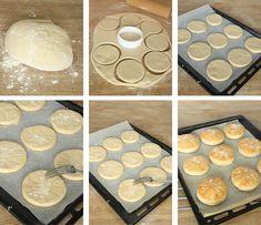 Drömgoda, saftiga, fluffiga tekakor! Hela familjen älskar dessa, runda mjuka bröd. Fika, Muesli, Bread Recipes, Diy And Crafts, Bakery, Brunch, Cooking, Create, Party