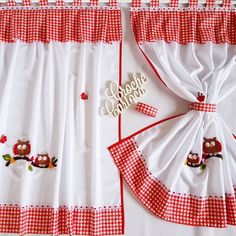 Luxury Curtains, Window Dressings, Kitchen Curtains, Valance, Apron, Diy Crafts, Decoration, Holiday Decor, Home Decor