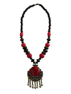 Collar Dharan: compra este hermoso collar de diseño Nepalí en nuestra tienda online #Collar #Nepal #Necklace #Chile