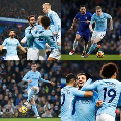 Manchester City 1 Chelsea 0 4/3/2018