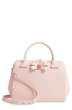 913945daca2be0 Ted Baker London Small Bowsiia Leather Bowler Bag available at