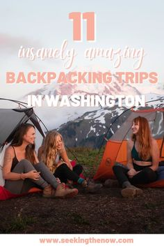 Okay, seriously the best backpacking trips in Washington! This makes me so excited for summer!! Adventure Photos, Adventure Travel, Washington Camping, Washington State, Backpacking Trails, Adventure Aesthetic, Adventure Photography, Pacific Northwest, Cant Wait