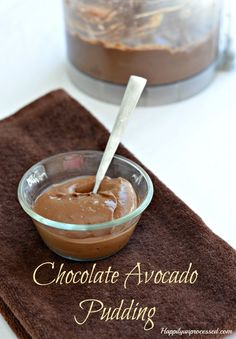 GLUTEN FREE Chocolate Pudding recipe. Surprising ingredients, but together they make the creamiest pudding ever!
