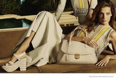 Gisele Bündchen and Chanel Make Going Barefoot Superchic: From Gisele Bündchen running through Paris barefoot for Chanel to Ralph Lauren model Sanne Vloet enjoying the beach with a handful of camels, the latest Spring campaigns are a breath of tropical air warming our frozen hearts.