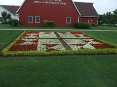 My Amish Indiana: The Quilt Gardens of the Heritage Trail | flower ...