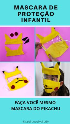 Face Masks For Kids, Easy Face Masks, At Home Face Mask, Diy Face Mask, Sewing Patterns Free, Sewing Tutorials, Sewing Projects, Mouth Mask Design, Diy And Crafts