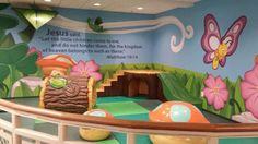 children's ministry rooms | children's church room decorating ideas