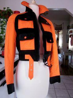 VINTAGE 1960s COURREGES Couture Future ski JACKET coat Made in France 70s 60s | eBay