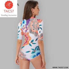 f0b1f0023ea Print Floral One Piece SwimSuit Beach Wear in 2019 | Sale - Trending ...