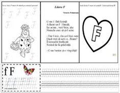 Litera F mare de tipar și de mână