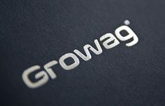 Rebranding of Growag - the biggest Polish company offering technological solutions for the rail industry. Corporate Identity, Brand Identity, Tech Branding, Logos, Letters, Buisness, Brochures, Magazines, Behance