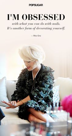Exclusive #beauty interview with Rita Ora.