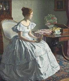 Leonard Campbell Taylor (British, 1874-1969) - Contemplation