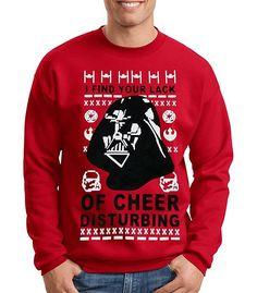 Star Wars Ugly Christmas Sweater Darth Vader