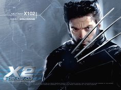 N°11 - Hugh Jackman as Logan / Wolverine - X-Men 2 United by Bryan Singer - 2003