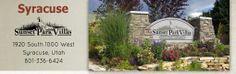 Sunset Park Villas - Syracuse Utah Villas, Utah, Sunset, Park, Villa, Parks, Sunsets, The Sunset, Mansions