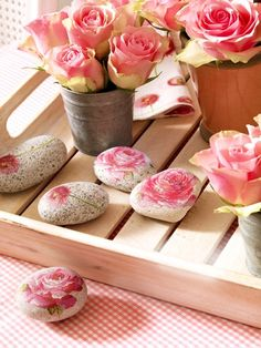 Decoupage - Roses