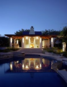 lake house pool