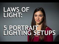 (91) Laws of Light: 5 Portrait Lighting Setups - YouTube